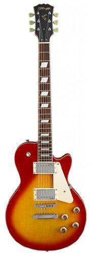 "Stagg L320-Cs Translucent ""L"" Series Rock Electric Guitar - Cherry Burst"