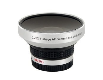 Digital Concept 37 Mm 0.25X Wide Angle Lens With Macro (Silver)