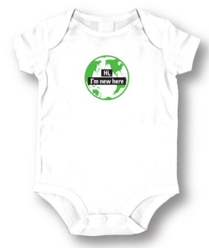 Solid Color Baby Onesies front-1031131