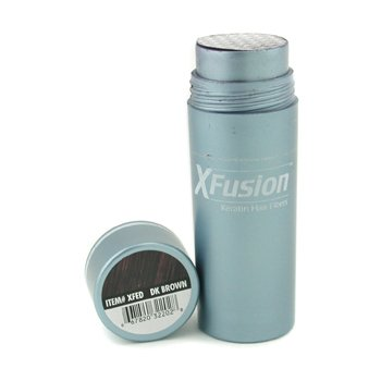 XFusion Dark Brown Keratin Hair Fibres 25g /.81 oz