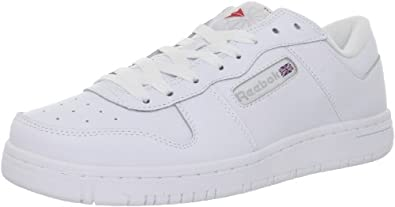 Reebok Men's Reeamaze Low Fashion Sneaker,White/White,7.5 M US