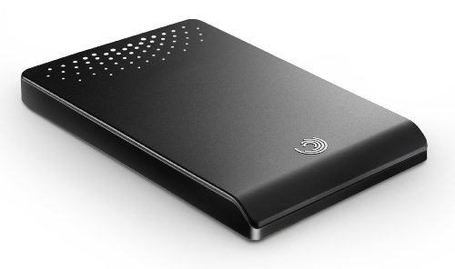 Seagate FreeAgent Go 640 GB USB 2.0 Portable External Hard Drive ST906403FAA2E1-RK (Tuxedo Black)