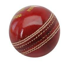 Davidson Genuine Quality Leather Cricket Ball (Red)
