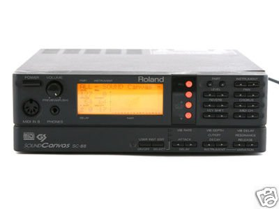 Review Roland SC-88 Sound Canvas Sound Module
