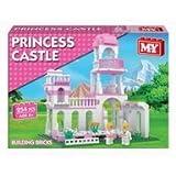 254 Piece Girls Princess Castle Brick Construction Set
