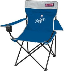 Los Angeles Dodgers Coleman Quad Chair at Amazon.com