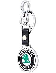 Forty Creek Skoda Locking Key Chain (Silver)