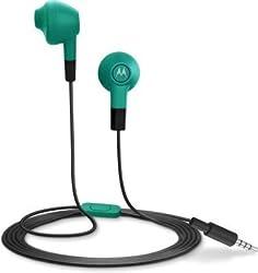 Motorola Lumineer In-Ear Earbuds (Turquoise Blue)