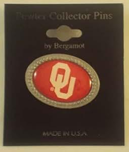 Oklahoma Team Logo Lapel Pin Red