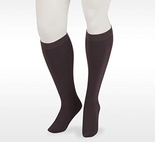 Juzo Dynamic Cotton Men's Closed Toe 20-30mmhg Compression Sock (Color: Brown, Tamaño: 4 (IV) Short)