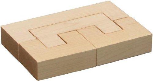 Cheap Fun Maple Landmarks 73222 Schoolhouse Naturals Building Blocks – C-Blocks – Unfinished (B003L2XNWQ)