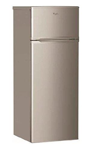 Whirlpool WTE2512A+X Autonome Marron 199L 53L A+ - réfrigérateurs-congélateurs (Autonome, Placé en haut, A+, Marron, SN, ST, 4*)