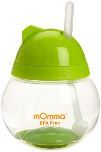 Lansinoh mOmma Straw Cup, Green