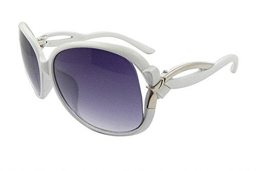 d0582b1af9b White Women s Sunglasses Large Frame Sunglasses Fashion Eyewear. by mei  kaidi