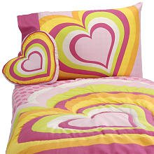 Little Mismatched Bedding Set: Heart to Heart