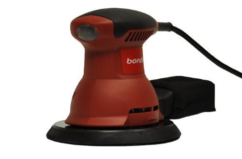 """Bondo Et205 6"""" Corded Electric Random Orbital Palm Sander And Polisher With Dust Collection Bag"""