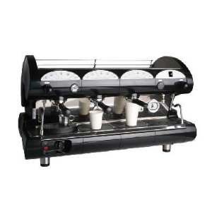 Commercial Pull Lever Espresso Machine 3 Groups