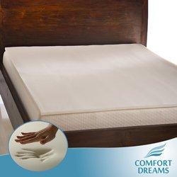 Comfort Dreams Memory Foam Mattress front-1079113