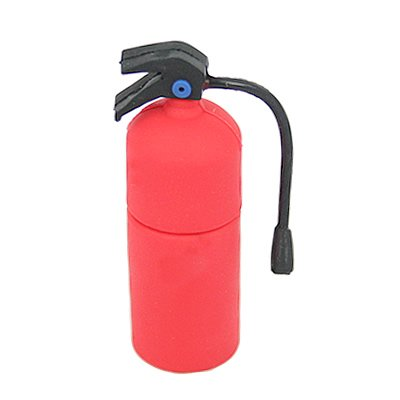 HDE (TM) USB 2.0 Red Fire Extinguisher Flash