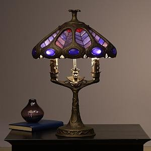 Disney Evil Queen Stained Glass Lamp Snow White Light - Table Lamps ...