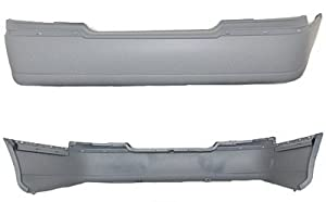 REAR BUMPER COVER - LINCOLN TOWNCAR 2003-2008 WITHOUT OBJECT SENSOR BRAND NEW