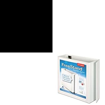 KITCRD43140CBHONS42ABCP - Value Kit - Cardinal FreeStand EasyOpen Binder with Locking Slant-D Shape Ring (CRD43140CB) and The HON Company HON Brigade 3-Shelf Steel Bookcase, Black (HONS42ABCP)