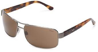 Polo Ralph Lauren Sunglasses PH 3070 9217/73 Metal - Acetate plastic Grey - Havana Brown