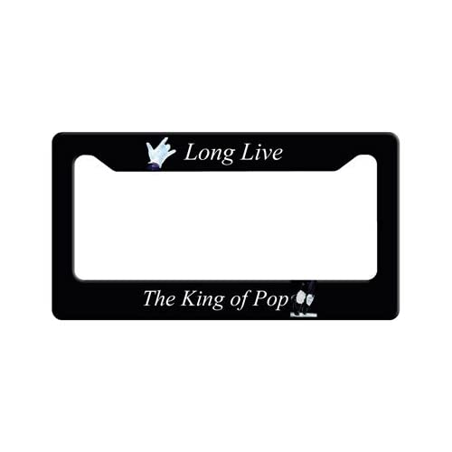 Long Live the King of Pop License Plate