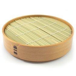 Japanese Handcrafted Cedar Tray For Soba Noodles, 1pc By Kurikyu, Est. 1874