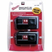 18V Battery 2/Pack 2.4 Ah Value Pack Sold As 1 Package