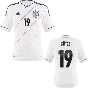 Das weiße EM 2012 Trikot von Deutschland