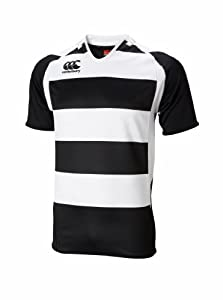 Canterbury Hooped Challenge Jersey, Black/White, Medium