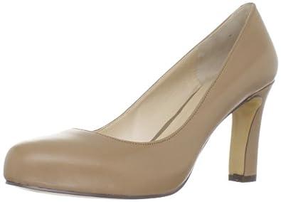 (暴跌)玖熙Nine West Women's Noteworthy 经典真皮时尚高跟皮鞋 $38.98 灰