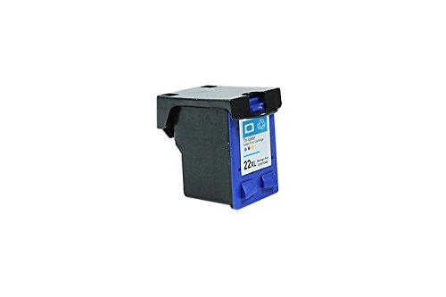 Recycelt für HP DeskJet D 2360 Tinte cyan, magenta, gelb - Nr.22 / C9352CE XXL - Inhalt: 19,5 ml