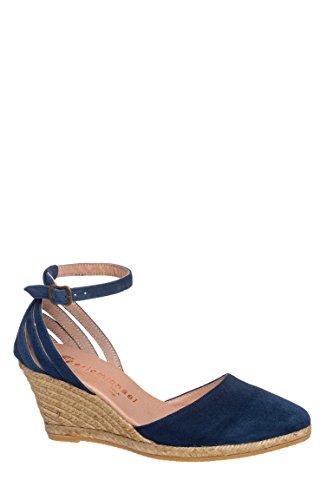 Vera Espadrille Wedge Ankle Strap Sandal