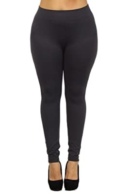 Women's Plus Size Basic Leggings 1X/2X and 3X/4X