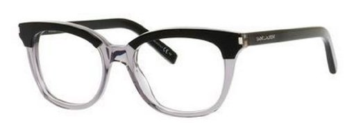 Yves Saint Laurent Yves Saint Laurent Sl 11 Eyeglasses-02YC Black Gray-50mm