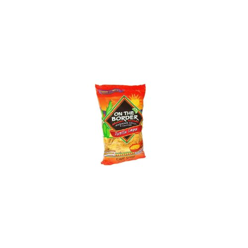 On The Border Cafe Style Tortilla Chips - 24 oz.