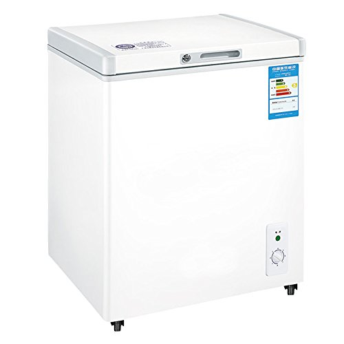 BD-100 Top Folding Door Ice Cream Chest Freezer Beer Soda Beverages Cooler Refrigerator Compact Apartment Size White 3.5 cu. ft. (Deep Freezer For Apartment compare prices)