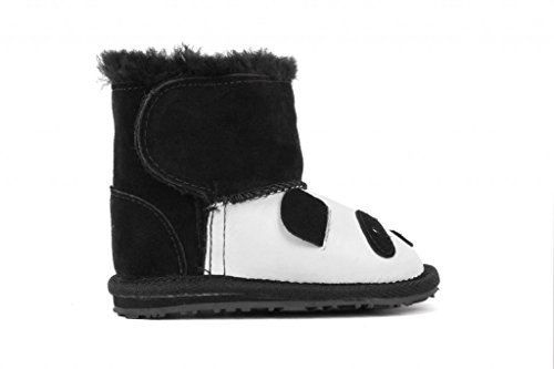 Emu Australia Little Creatures Walker Panda Infant Boots B11051, 18-24 Months front-438985