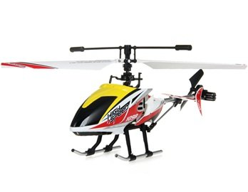 FD1098 4-Channel Alloy RC Helicopter (Yellow)