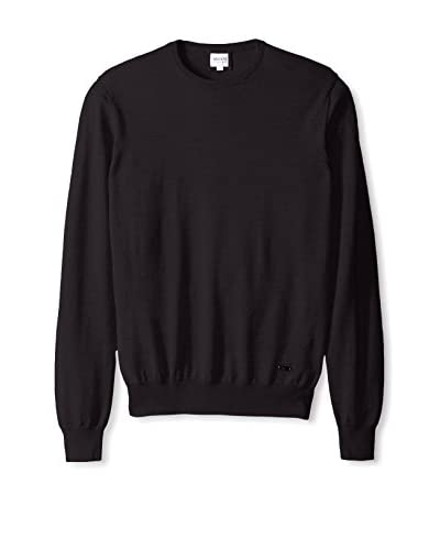 Armani Collezioni Men's Crew Neck Sweater