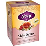 Yogi Herbal Skin Detox Tea Bags - 16 Count, 1.12 Ounce (2 Pack)