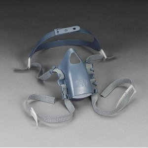 3M 7581 Blue Head Strap - 70071042603 [Price Is Per Part] front-947883