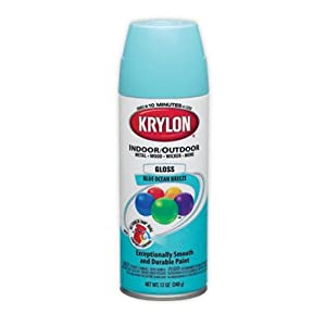 Krylon Blue Ocean Breeze 5 Ball Decorator Aerosol Paint