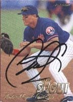 David Segui Montreal Expos 1997 Fleer Autographed Hand Signed Trading Card. by Hall+of+Fame+Memorabilia