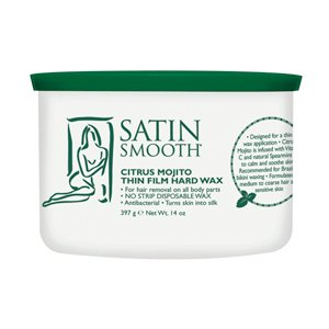 Satin Smooth Citrus Mojito Wax 14oz [Health and Beauty] (Wax Warmer Conair compare prices)