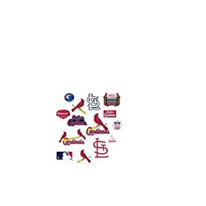 MLB St. Louis Cardinals Team Logo Assortment Fathead Jr. Wall Decal by Fathead
