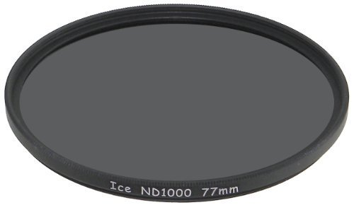 ICE 77mm ND1000 Filter Neutral Density ND 1000 77 10 Stop Optical Glass (Ice Filter compare prices)