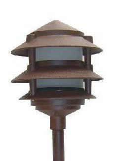 Low Voltage Landscape 3 Tier Pagoda Lights